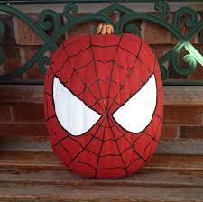 my spider man painted pumpkin spiderman pumpkin halloween