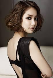 curly short hairstyles for asian women medium haircut