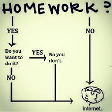 Homework Meme - homework meme yes no flowchart internet math funny
