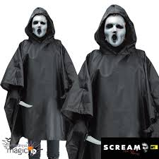 disfraces halloween hombre ghostface scream serie tv asesino poncho disfraz halloween