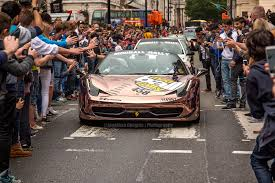 rally ferrari rose gold ferrari 458 modball rally 2015 on behance