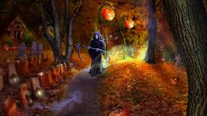 autumn halloween wallpaper wallpapers