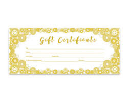 red heart glitter gift certificate download premade gift