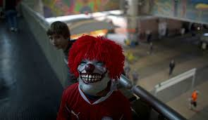 Killer Clown Costume Killer Clown Costume Wearers Will Not Be Tolerated In The Uk