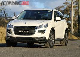 peugeot suv 2015 2012 peugeot 4008 allure review performancedrive