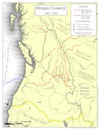 Astoria Oregon Map by Hesperus Arts Oregon Country Maps