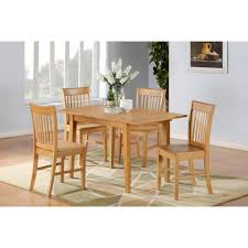 White Round Dining Table With Leaf Dining Tables 7 Piece Counter Height Dining Table Set White
