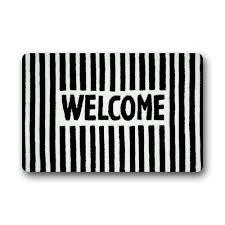 Welcome Doormats 16 Best Doormats Images On Pinterest Door Mats Black And White