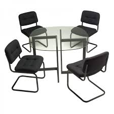 rent chairs black brewer chairs with square black geo table for rent