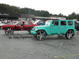 Jeep Bbq Box Chevy On 34 S Jeep Wrangler On 30 S Stuntworld Bbq