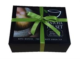 tea gift sets koyu organic matcha green tea gift set