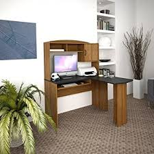 mainstays l shaped desk with hutch amazon com mainstays l shaped desk with hutch multiple finishes