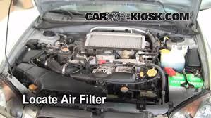 subaru impreza turbo engine 2004 2007 subaru impreza engine air filter check 2005 subaru