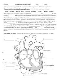 Anatomy And Physiology Coloring Workbook Chapter 16 Answer Key Circulatory System Worksheet Worksheet Pinterest Circulatory