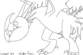 night fury coloring page view topic color a deadly nadder chicken smoothie