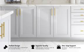 white kitchen cabinets with gold pulls oyx 10pack 3in gold cabinet pulls brushed brass cabinet pull gold pulls for kitchen cabinet hardware modern gold cabinet handles gold drawer pulls for