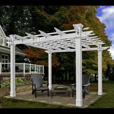 pergolas garden pergolas vinyl pergolas chadsworth columns