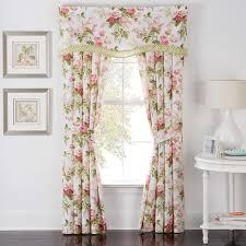Waverly Curtains And Drapes Waverly Emma U0027s Garden Curtain Panels U0026 Reviews Wayfair