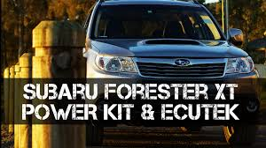 custom subaru forester subaru forester xt power kit u0026 ecutek custom tune review boosted