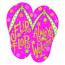 Flip Flop Wall Decor Flip Flop And Coastal Home Decor From All About Flip Flops