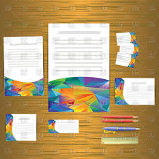 business cards templates corporate identity vector image 62723