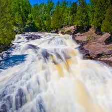 Minnesota On Map Experience Spring Waterfalls In Minnesota Visit Cook County Mn