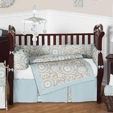 Unisex Crib Bedding Sets Sand Scroll Crib Bedding Set Rosenberryroomscom Baby Nursery
