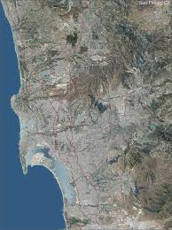 San Francisco Topographic Map by San Diego Topo Map With Aerial Photography
