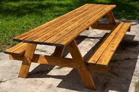 Make Outdoor Picnic Table by Outdoor Picnic Table