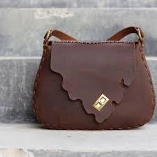 Cowhide Leather Purses Shop Handmade Leather Hip Bags On Wanelo