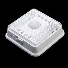 Indoor Motion Sensor Light Auto 8 Led Light Pir Sensor Motion Detector Wireless Infrared