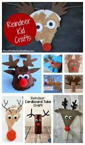 Kids Reindeer Crafts - top ten reindeer kid crafts the resourceful mama