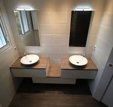 meuble de salle de bain avec meuble de cuisine deco salle de bain avec meuble salle de bain vasque frais