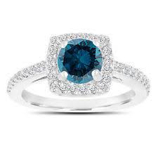 Blue Diamond Wedding Rings by Blue Diamond Ebay