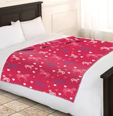 horse bedding for girls girls soft u0026 warm single pink horse fleece blankets sofa bed