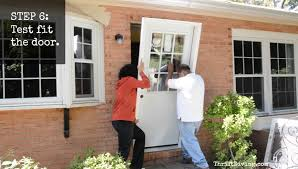 diy exterior door how to install an exterior door and paint it with an exterior door paint