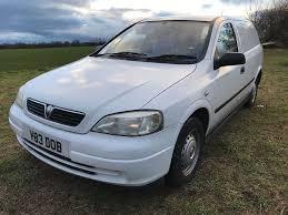 vauxhall astra van 1 7 dti mk4 g 2001 white envoy isuzu turbo