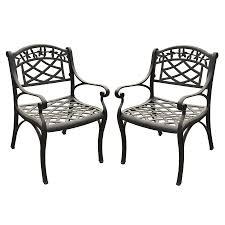 Crosley Palm Harbor Patio Furniture Furniture 3 Piece Dark Iron Seating Set By Crosley Patio