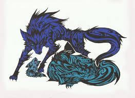 tribal fox arctic by toxiconus d5dlh42 jpg