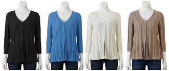 kohls womens blouses kohl s s sweaters and tops 11 99 reg 44