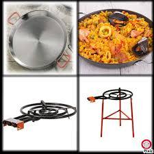 cuisiner une paella kit à paella complet pour cuisiner la paella comme un chef