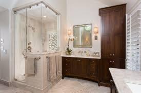 bathroom traditional design ideas with bathroom storage beige