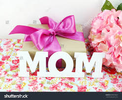 Flowers For Mom Gifts Beautiful Bouquet Flowers Mom Mother Stock Photo 385978633
