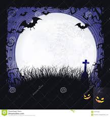 halloween moon background halloween background with a full moon and bats stock image image