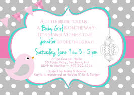 printable baby shower invitation wording templates with graceful