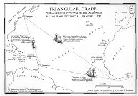Fill In The Blank Us Map by Triangular Trade