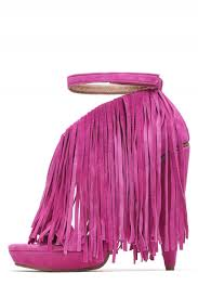 jeffrey campbell shoes gardin new arrivals in fuchsia suede shoe