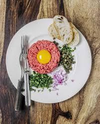 tartare cuisine steak tartare befsztyk tatarski recipe