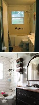 ideas for a bathroom makeover best 25 small bathroom makeovers ideas on small