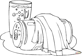 soda coloring page free printable coloring pages